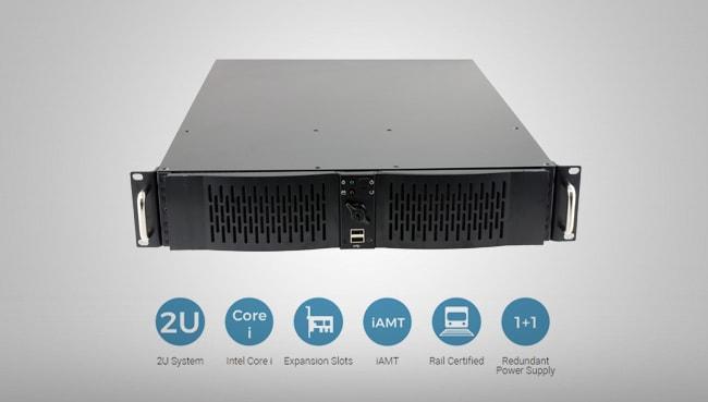 2U Rail-certified computer 50121-4:2006