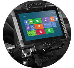 In-vehicle Installation - Tablet and docking stations