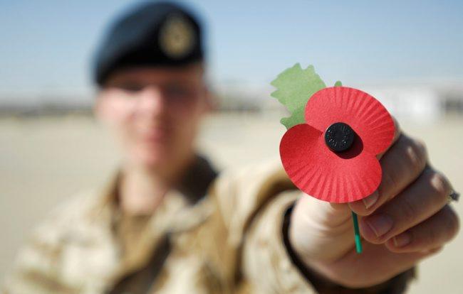 DDay Poppy Donation - D-Day 75th Anniversary