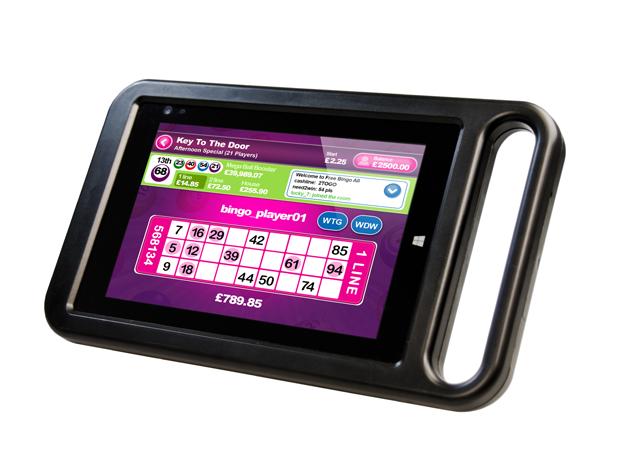 Electronic Bingo Tablets